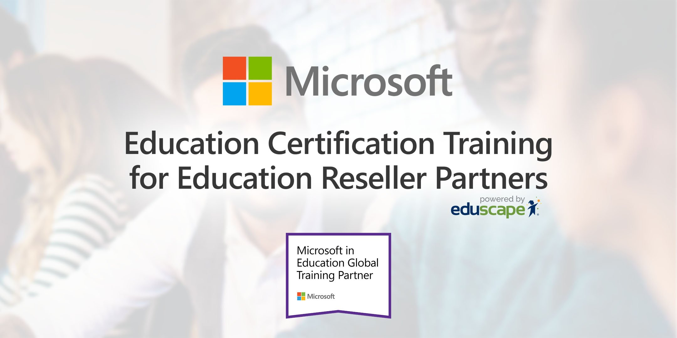 Education Certification Training For Education Reseller Partners